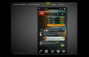 MeeGo Smartphone Interface Nokia Style