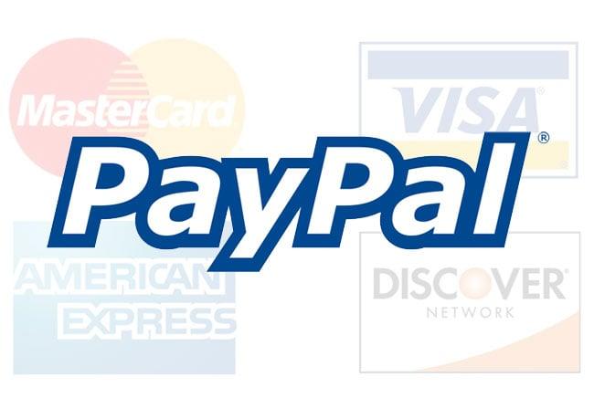 paypal replacing credit cards