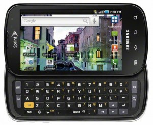 Samsung Epic 4G Now Available
