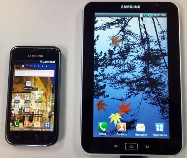 Samsung Galaxay Tab Android Tablet Headed To Vodafone UK