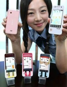 Samsung Launches Nori Touchscreen Phone