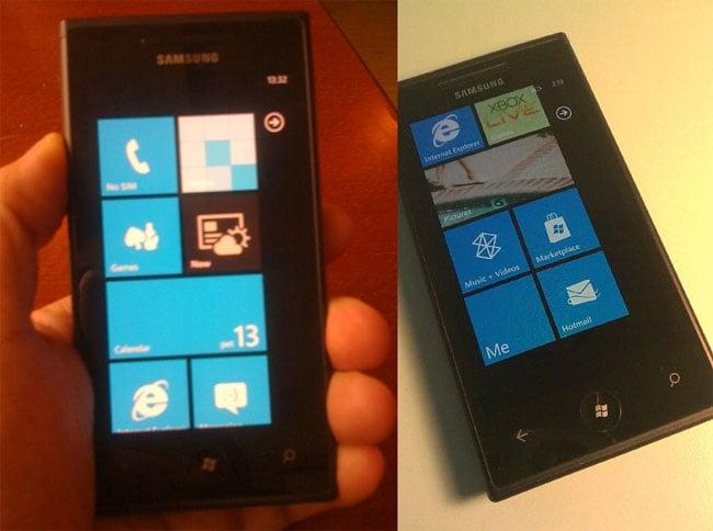 New Samsung Windows Phone 7 Smartphone Appears