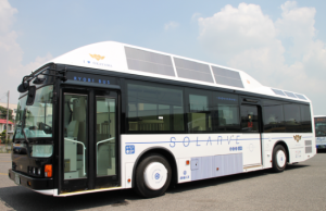 Solarve The Solar Cell-Equipped Bus Debuts In Japan