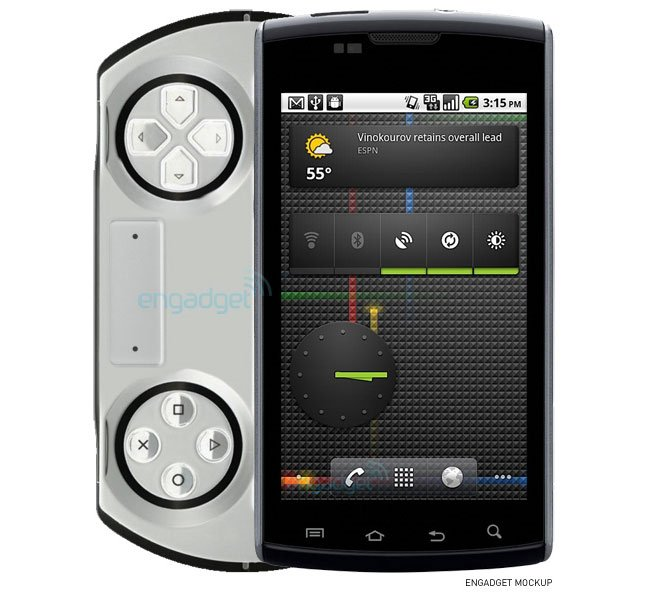 Sony Ericsson To Launch Android PSP GO Gaming Smartphone