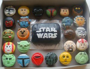 Awesome Star Wars Cupcakes