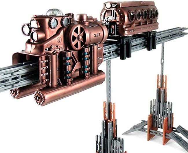 Steampunk Toy Monorail