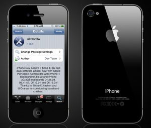 Ultrasnow iPhone 4 Unlock Now Available