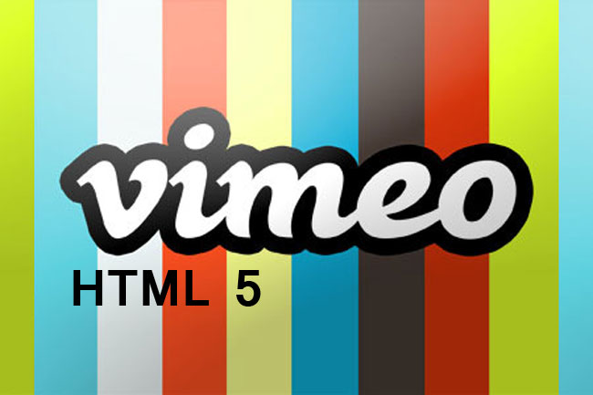 vimeo html5