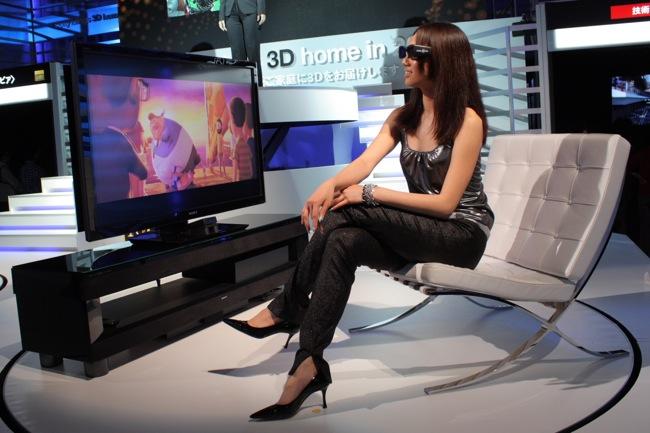 Sony 3D TV Display