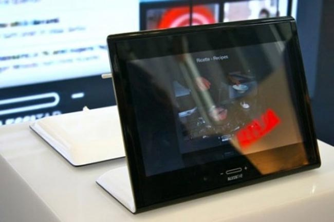 AlessiTab Android Tablet To Go On Sale In November In Italy