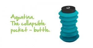 Aquatina The Worlds First Collapsible Pocket Bottle