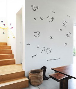 Atari Wall Decals Add Some Geeky Style To Your Apartment