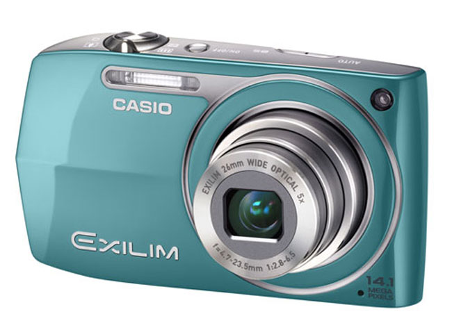 Casio Exilim EX-Z2300 And EX-ZR10 Compact=