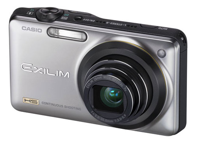 Casio Exilim EX-Z2300 And EX-ZR10 Compact=