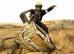 DTV Shredder Segway Tank In Action (video)