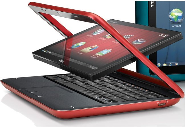 Dell Inspiron Duo Hybrid Windows 7 Tablet And Netbook
