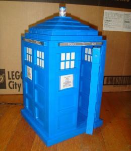 Dr Who Lego Tardis