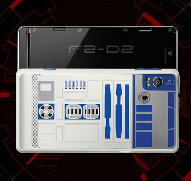 Droid 2 R2-D2 Edition, More Photos