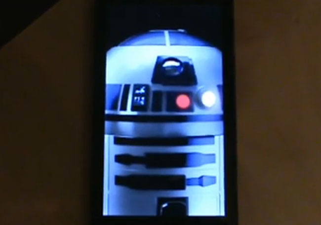 Droid 2 R2-D2 Edition Boot Animation (Video)