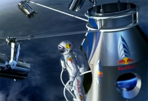How To Film A 690mph 23 Mile Freefall (video)