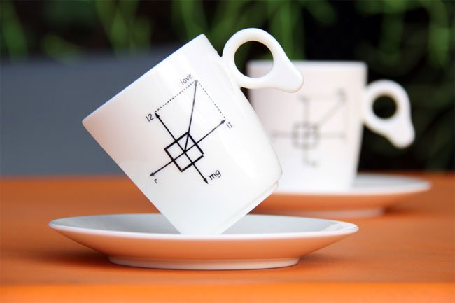 Gravity Defying Coffee Cups