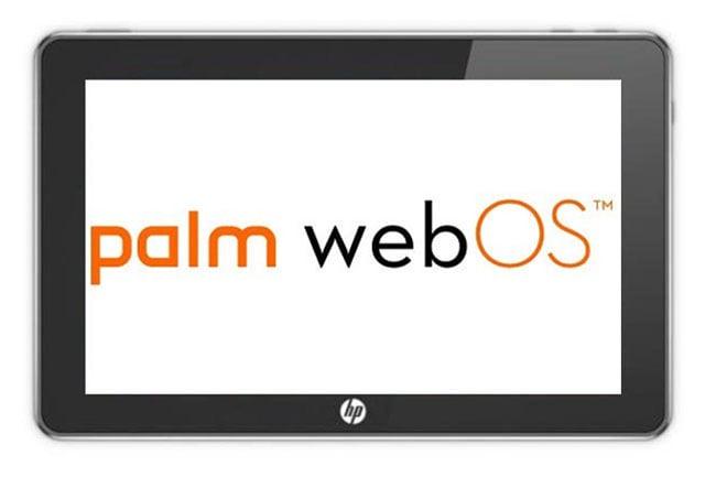 HP PalmPad Tablet