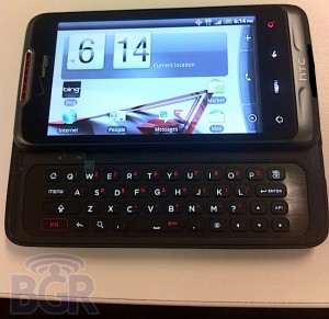 New HTC Qwerty Android Smartphone Revealed