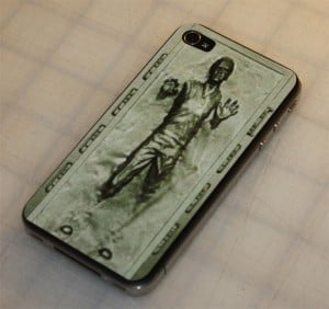 Han Solo In Carbonite iPhone 4 Decal