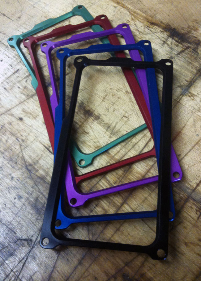 Awesome Machined iPhone 4 Cases