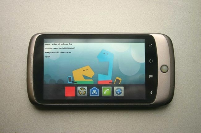 Meego Running On Nexus One