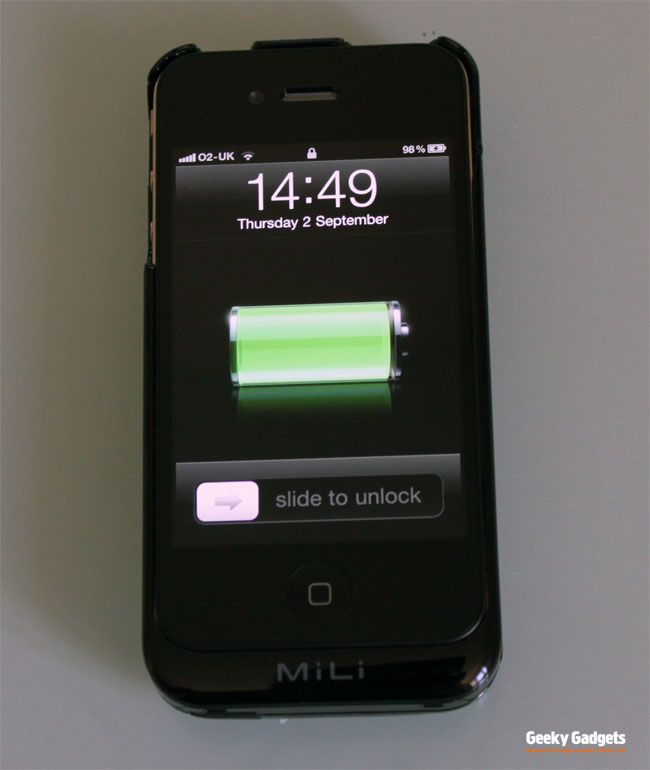 MiLi PowerSpring4 iPhone 4 Battery Case Review
