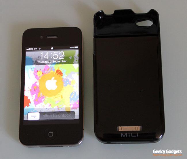 Mili PowerSpring4 iPhone4
