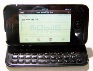 NUU Mini Key iPhone Case Adds A Flip Out Physical Keyboard