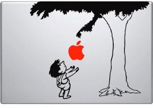 Newton Tree MacBook Decal