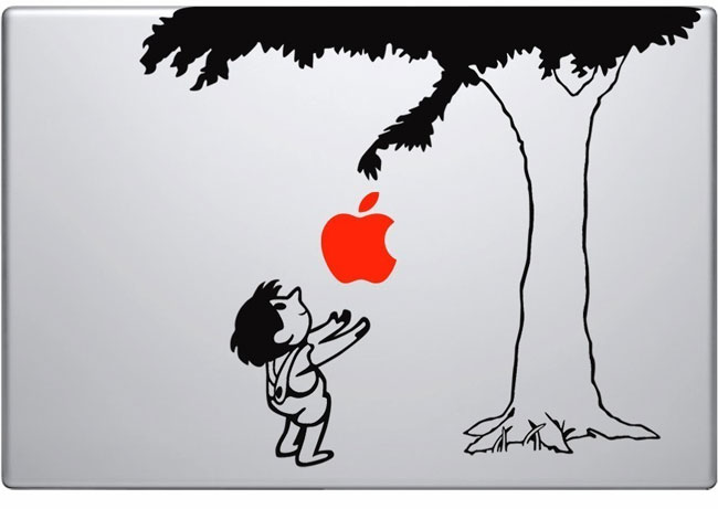 Newton Tree MacBook Decal