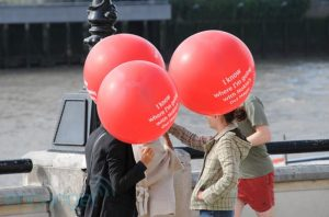 Nokia Crashes HTC's London Event With Balloons