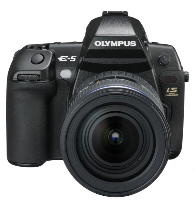 Olympus E5 DSLR Gets Official