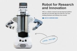 Awesome PR2 Robot For Sale (video)