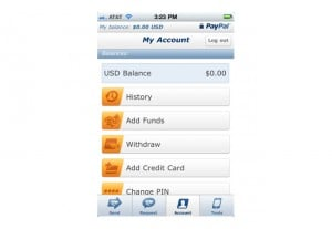 Paypal Check Deposits iPhone