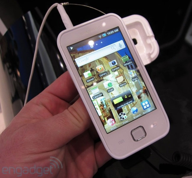 Samsung Galaxy Player 50 Looks To Take On iPod Touch