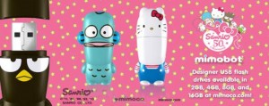 Mimoco Unveils New Line Of Hello Kitty USBs