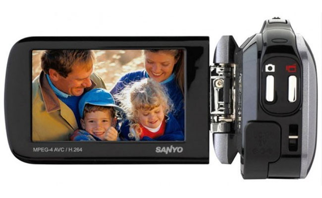 Sanyo Xacti GH4 HD Camcorder