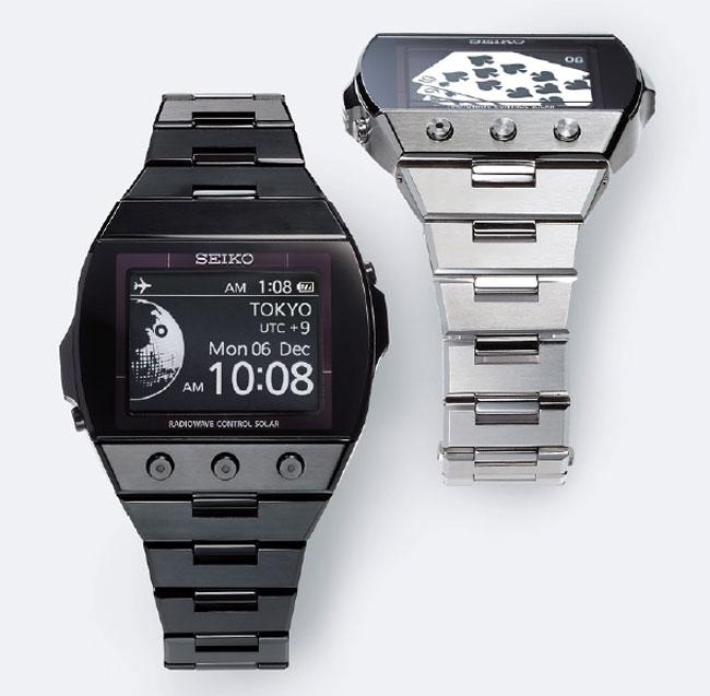 Seiko's Active Matrix EPD Watch