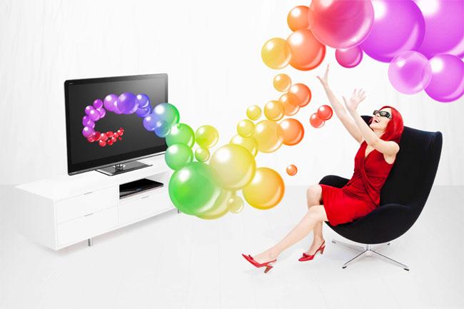 Sharp AQUOS Quattron 3D LCD TVs Announced
