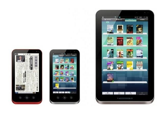 Sharp Galapagos Android eReader Tablet