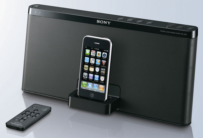 Sony RDP-X50iP iPhone And iPod Dock Announced