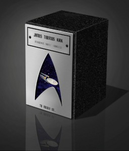 Eternal Image Can Immortalize Your Ashes In A Star Trek Urn