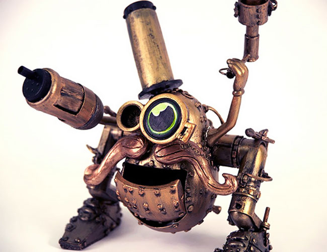 Steampunk Mr Potato Head