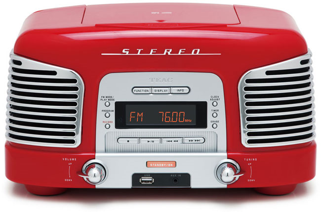 TEAC Retro Radio CD Player