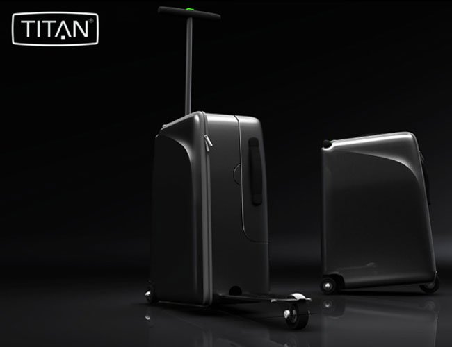 TITAN High Roller Suitcase